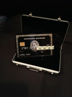 James Bond Briefcase With Screen Accurate Credit Card,Very Very Rare.