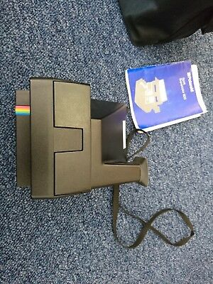 Polaroid Spirit Supercolor 600 Camera in working order with bag and instructions