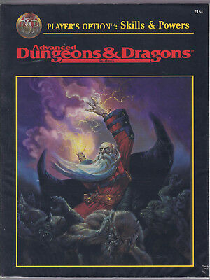 Advanced Dungeons & Dragons (AD&D, 2nd Edition): Player's Option: Skills & Power