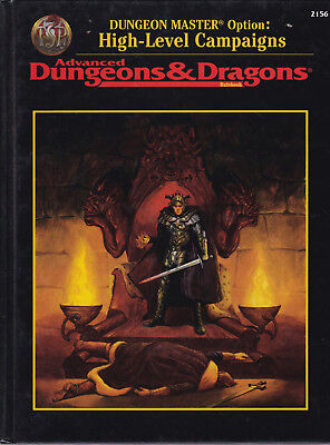 Advanced Dungeons & Dragons: Dungeon Master Option: High-Level Campaign