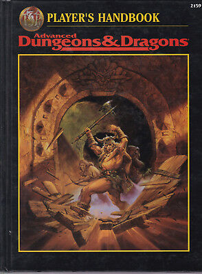 Advanced Dungeons & Dragons (AD&D, 2nd Edition): Player's Handbook