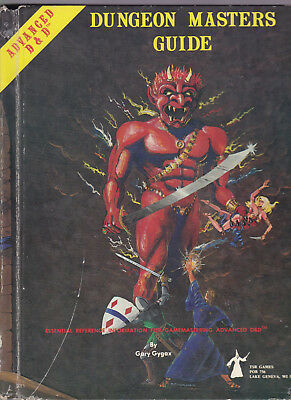 Advanced Dungeons & Dragons (AD&D, 1st Edition): Dungeon Master's Guide