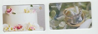 2 diff Walmart Canada gift cards bilingual NO VALUE collectors only #3
