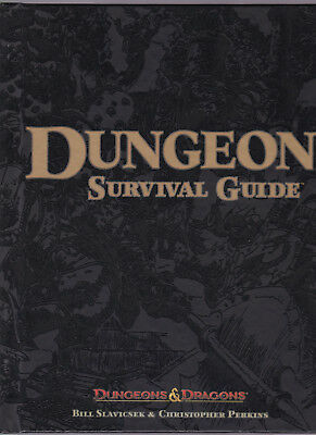 Dungeons & Dragons (3th Edition): Dungeon Survival Guide