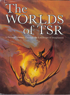 The Worlds of TSR: A Pictorial Journey Through the Landscape of Imagination