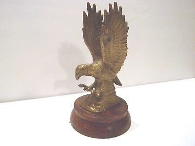 Vintage Metal Brass? Eagle Figure Statue