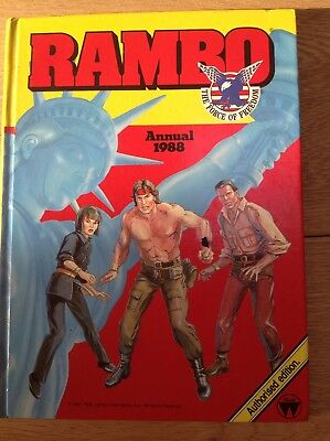 Rambo annual 1988 good condition vintage