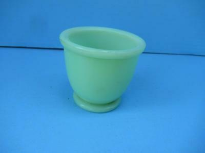 Small Vintage Footed Jadite Cup