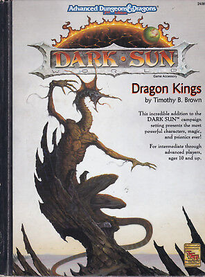 Advanced Dungeons & Dragons (2nd Edition): Dark Sun. Dragon Kings