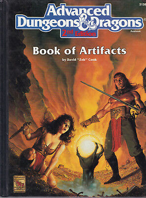 Advanced Dungeons & Dragons (2nd Edition): Book of Artifacts
