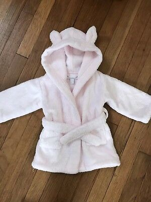 Little White Company Baby Girl Dressing Gown