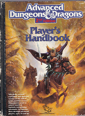 Advanced Dungeons & Dragons (2nd Edition): Player's Handbook