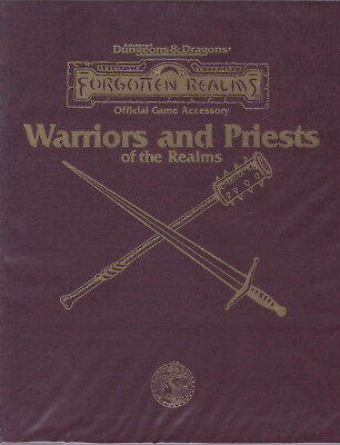 Advanced Dungeons & Dragons: Forgotten Realm - Warriors and Priests