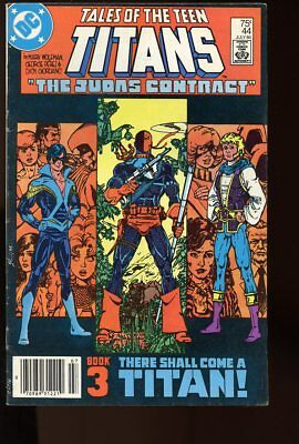 Tales Of The Teen Titans #44 Very Good New Nightwing 1984 Dc Comics