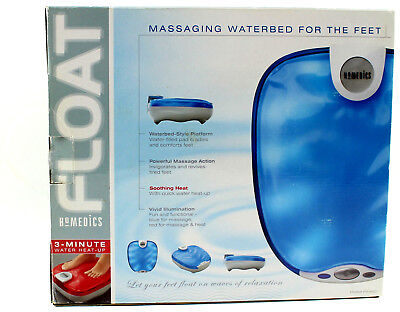 HoMedics FLOAT Massaging Waterbed For The Feet FM-H2O Relaxing 3 Minute Heat Up