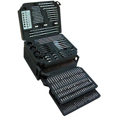 Master Drill Bit Set 326 Piece Comprehensive Set of Drill Bits and Accessories