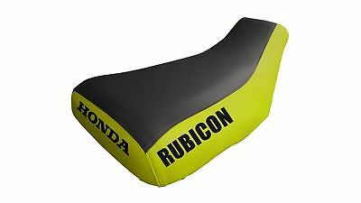 Honda Rubicon 650/680 Logo Yellow Sides Seat Cover TG2018204