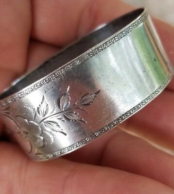 Wallace Sterling Silver Napkin Holder Ring