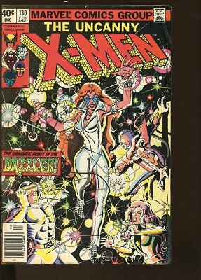 UNCANNY X-MEN #130 VERY GOOD- 1st DAZZLER 1980 MARVEL COMICS