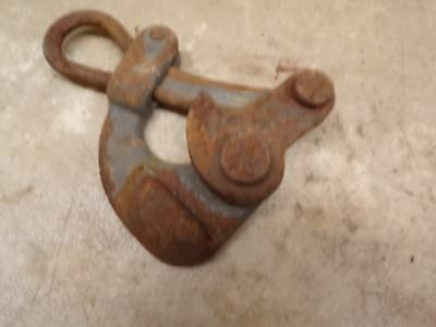 Old Klein 1604-20 Heavy Duty Cable Wire Pulley Tool