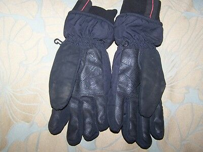 NO FEAR - Boys Black Ski/winter Gloves - SIZE MB (APPROX 6-8 YEARS)