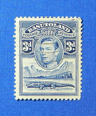 1938 BASUTOLAND 3d SCOTT# 22 S.G.# 22 USED                               CS20154