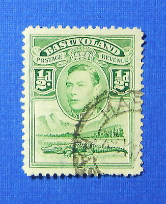 1938 BASUTOLAND 1/2d SCOTT# 18 S.G.# 18 USED                             CS20144