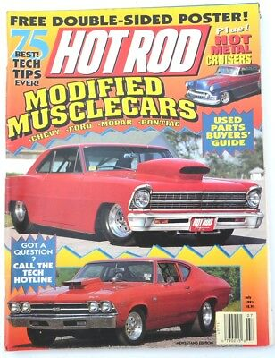 HOT ROD MAGAZINE July 1991 - Modified Muscle Cars, Used Parts Buyers' Guide