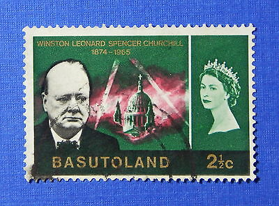1966 BASUTOLAND 2 1/2c SCOTT# 106 S.G.# 103 USED                         CS20285