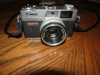 CANON CANONET QL-17 GIII 35mm Rangefinder - Parts or Repair Only