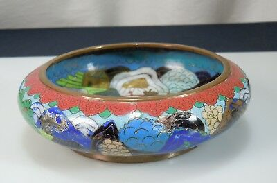 Chinese Cloisonne Brush Washer         52522