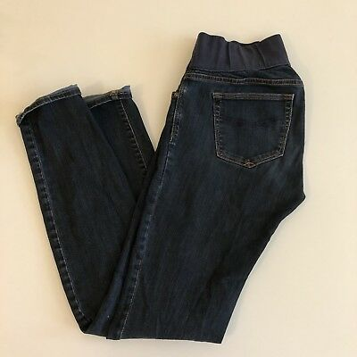 Maternity Gap Jeans 4 27 Long Comfy Stretch Skinny Ankle Small Pants