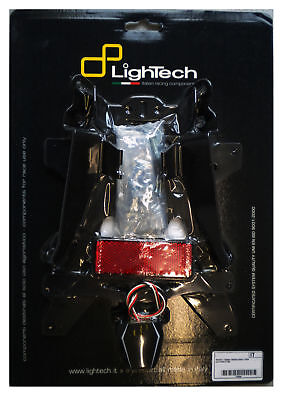 Suzuki Gsxr 750 2008 > 2010 Kit Support De Plaque D' Immatriculation Lightech