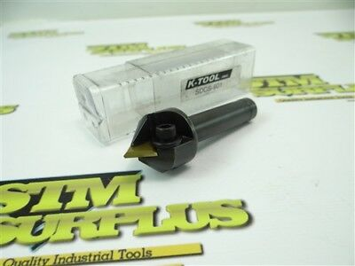 New K Tool Indexable Spot Drill Counter Sink Tool + Carbide Insert Sdcs-901