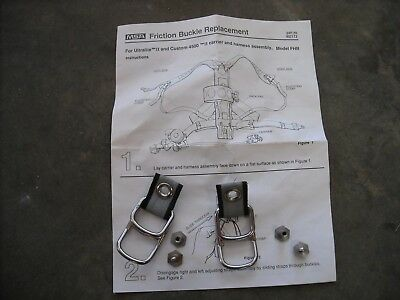 Msa Scba Air Pak Friction Buckle Replacement
