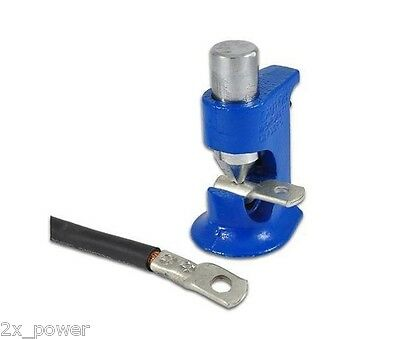 Brute Hammer Crimper Tool - Crimp Battery Cable / Welding Wire 8 Gauge to 4/0