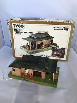 Vintage Tyco Model Railway Building Standart - Electric Warehouse Ho