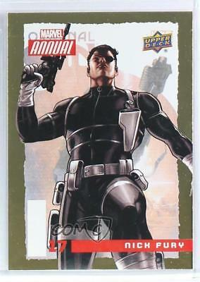 2016 Upper Deck Marvel Annual Gold #17 Nick Fury Non-Sports Card 4jc