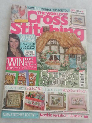 The World of Cross Stitching magazine issue 194 -incl All Our Yesterday RRP£3.99