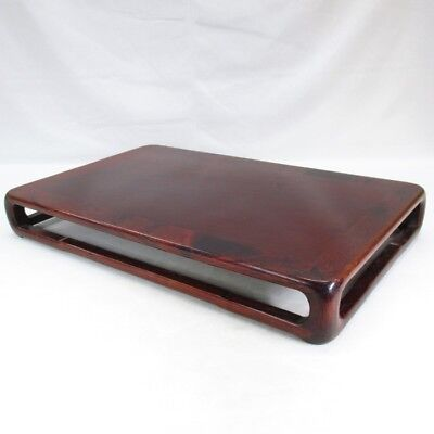 D901: Chinese quality wooden decorative stand made from popular KARAKI w/cloth