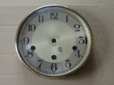 Vintage Clock Dial , Bezel, Convex Glass