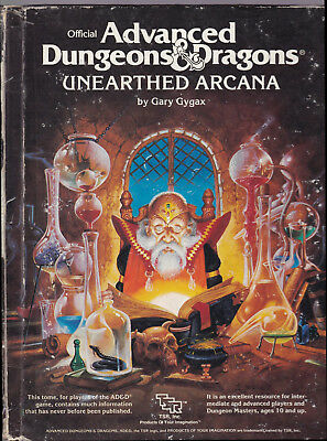 Advanced Dungeons & Dragons (1st Edition): Unearthed Arcana