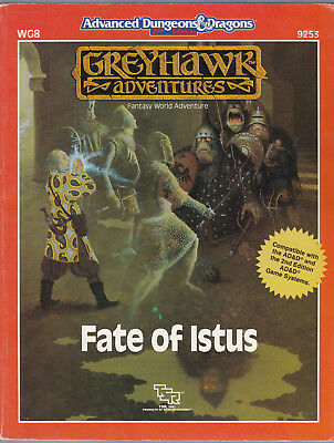 Advanced Dungeons & Dragons (AD&D): Greyhawk Adventures - Fate of Istus
