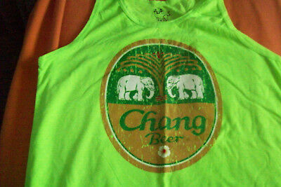Super !!!! Chang Beer T - Shirt aus Thailand Gr.XL ( Tanktop)