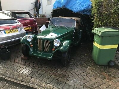 Pilgrim Bulldog Kit Car needs complete restoration