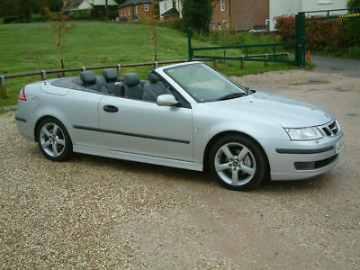2004/54 SAAB 9-3 VECTOR 2.0iT CONVERTIBLE. 1 OWNER & ONLY 56,000 MILES