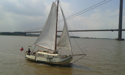 Steel Sailing boat/ barge /Yacht