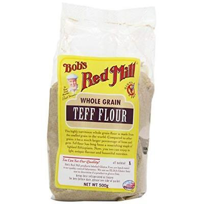 Bobs Red Mill Gluten Free Teff Flour 500 g (Pack of 2)