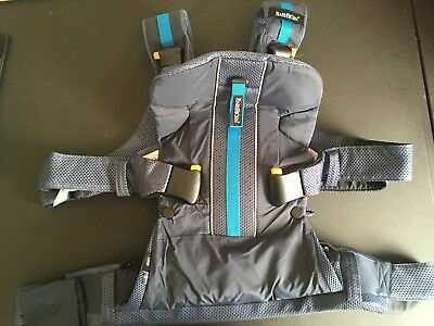 BabyBjorn One Outdoors Water Repellent Baby Carrier / Carrying - Dark Blue