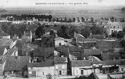 Cpa Brienne Le Chateau - Vue Generale ( Aube Troyes )
